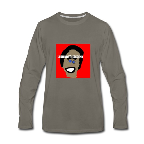 LeonidasTheLegend - Men's Premium Long Sleeve T-Shirt