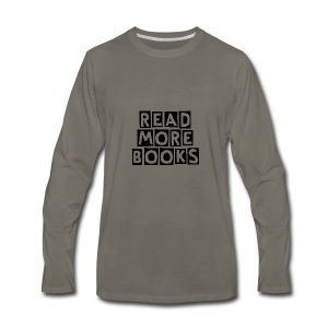Read More Books - Men's Premium Long Sleeve T-Shirt