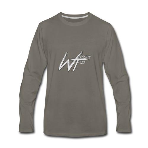Working Titles official Merch - Men's Premium Long Sleeve T-Shirt