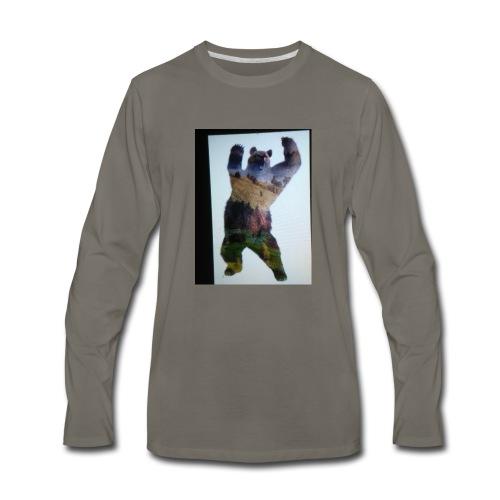 Lucky bear - Men's Premium Long Sleeve T-Shirt