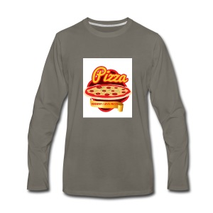 Ummm I love Pizza! - Men's Premium Long Sleeve T-Shirt