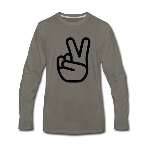 HASTY VICTORY - Men's Premium Long Sleeve T-Shirt