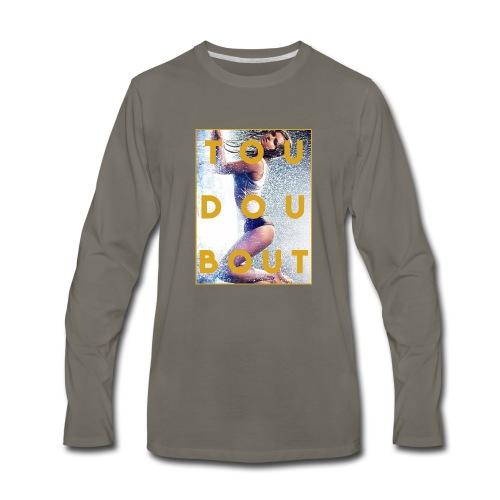 tou dou bout girl - Men's Premium Long Sleeve T-Shirt