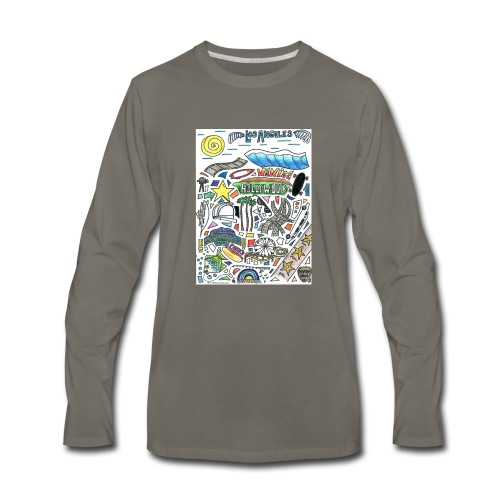 Los Angeles - Men's Premium Long Sleeve T-Shirt
