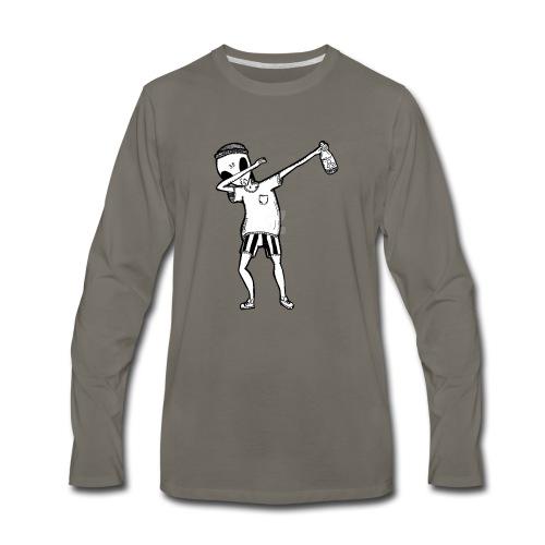 Alien Dab - Men's Premium Long Sleeve T-Shirt