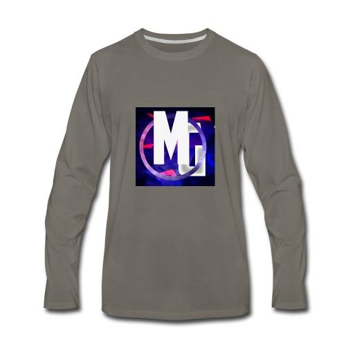 MoneyGamer Logo - Men's Premium Long Sleeve T-Shirt