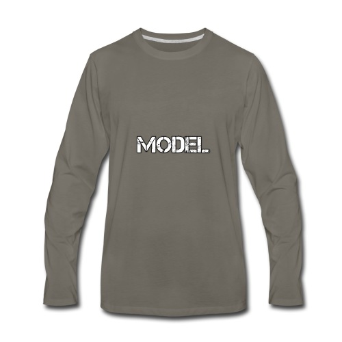 MODEL - Men's Premium Long Sleeve T-Shirt
