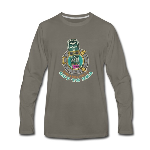 Rock and Roll Luau II - Men's Premium Long Sleeve T-Shirt