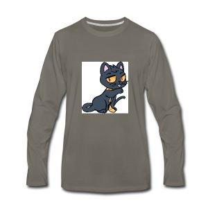 Kieran_Cat_Test - Men's Premium Long Sleeve T-Shirt