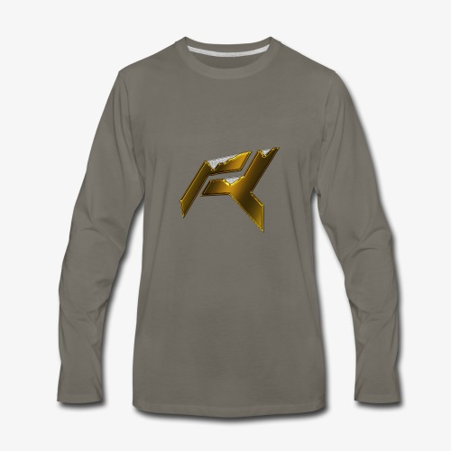 Raid Gold - Men's Premium Long Sleeve T-Shirt