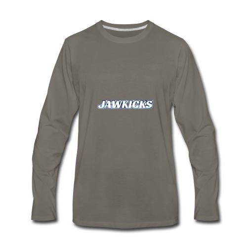 JAWKICKS LOGO APPAREL - Men's Premium Long Sleeve T-Shirt