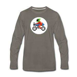 Cafe Biker - Men's Premium Long Sleeve T-Shirt