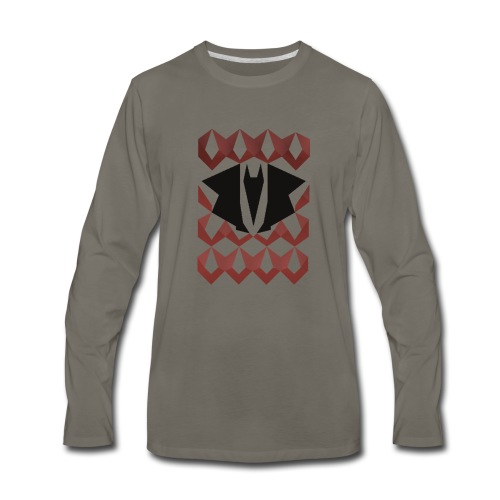 Dragon chain t-shirt - Men's Premium Long Sleeve T-Shirt