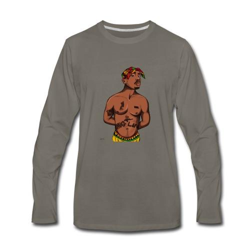 Goat Two - Men's Premium Long Sleeve T-Shirt