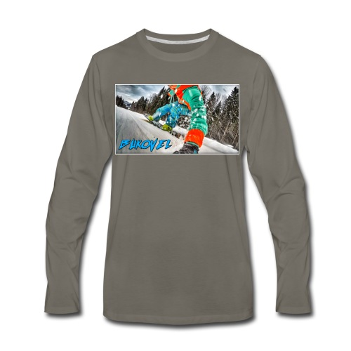 Bukovel Snowboarding - Men's Premium Long Sleeve T-Shirt