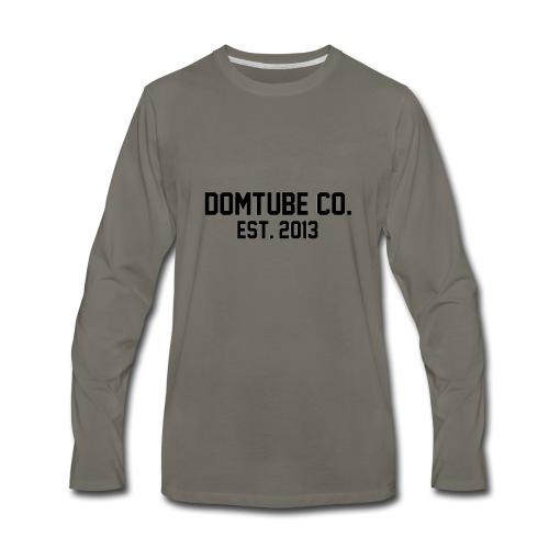 DomTube Co - Men's Premium Long Sleeve T-Shirt