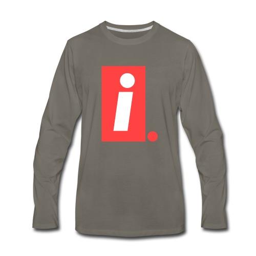 Ideal I logo - Men's Premium Long Sleeve T-Shirt