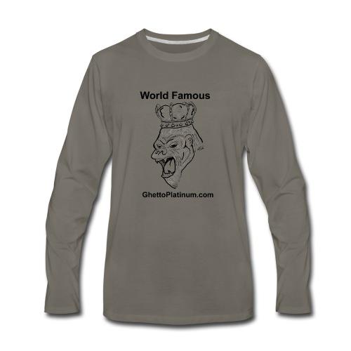 T-shirt-worldfamousForilla2tight - Men's Premium Long Sleeve T-Shirt