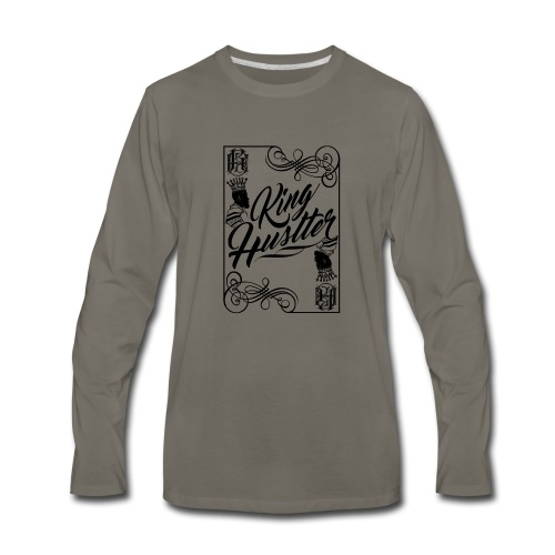 king_hustler - Men's Premium Long Sleeve T-Shirt