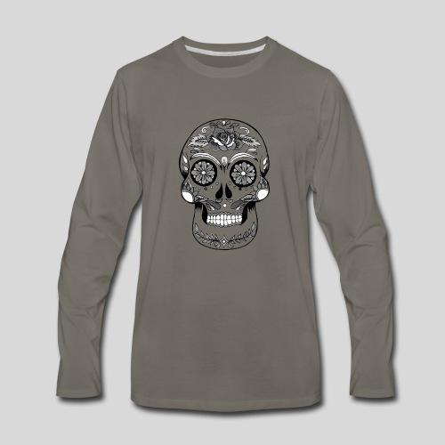 Catrina Black & White - Men's Premium Long Sleeve T-Shirt