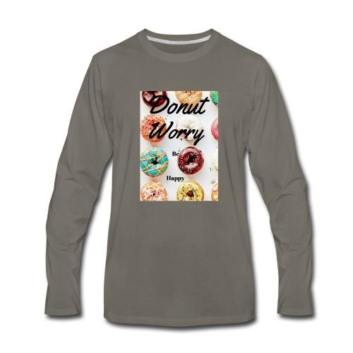 DONUTS! - Men's Premium Long Sleeve T-Shirt