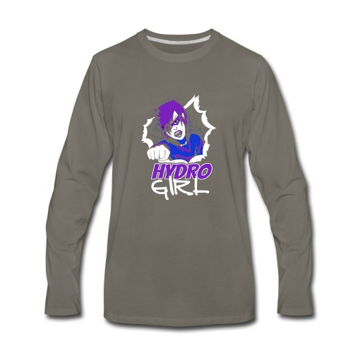 The Adventures Of Hydro Girl - Men's Premium Long Sleeve T-Shirt