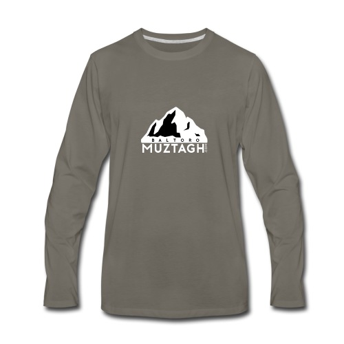 Baltoro_Muztagh_White - Men's Premium Long Sleeve T-Shirt