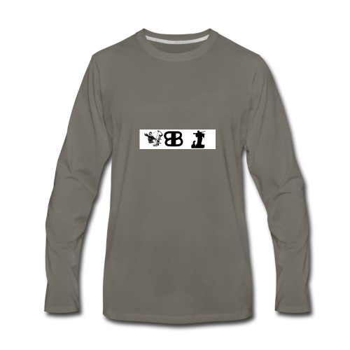 bigbuckers youtube merch - Men's Premium Long Sleeve T-Shirt
