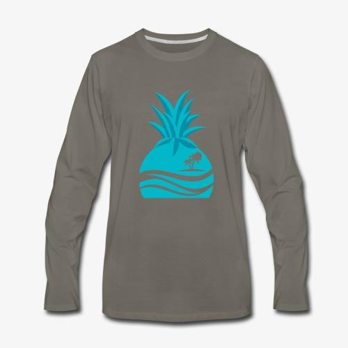 Island Pineapple - Men's Premium Long Sleeve T-Shirt