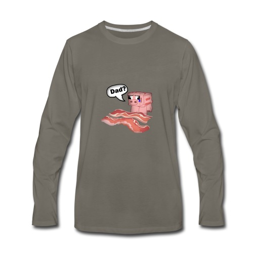Bacon Tee Shirt - Men's Premium Long Sleeve T-Shirt