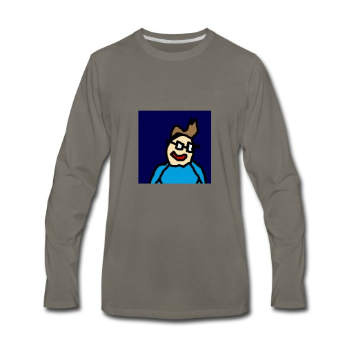 Official Luke Shirt - Men's Premium Long Sleeve T-Shirt