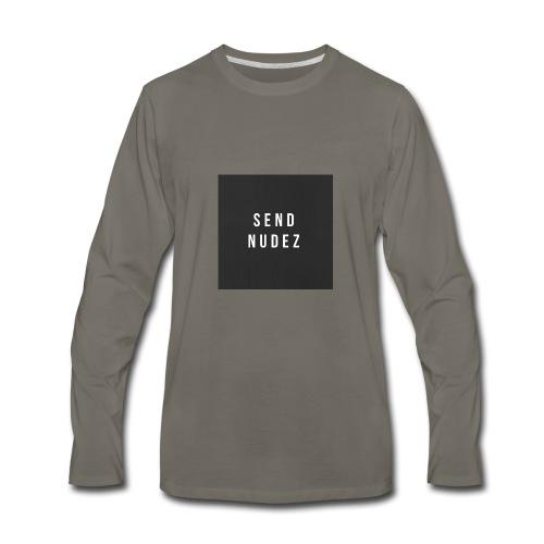 SendNudez - Men's Premium Long Sleeve T-Shirt