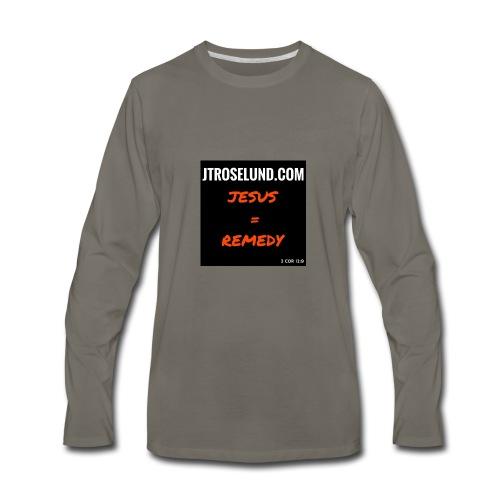 JTRoselund.com Merchandise - Men's Premium Long Sleeve T-Shirt