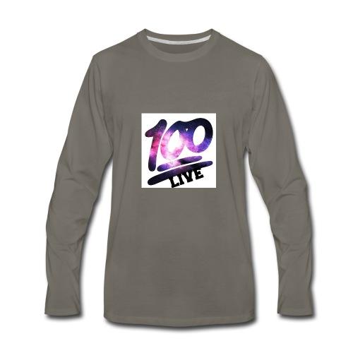 living 100 - Men's Premium Long Sleeve T-Shirt