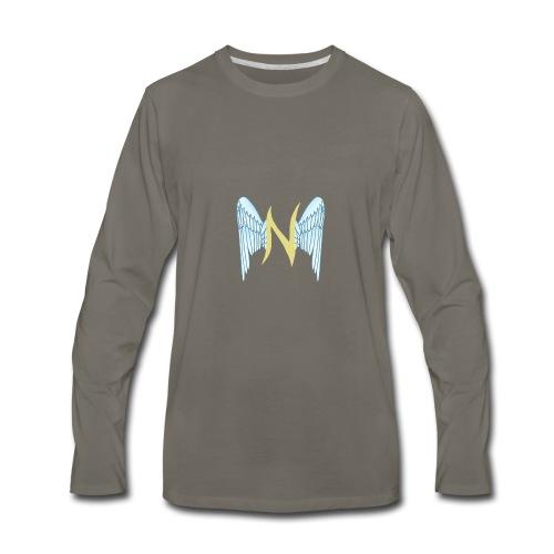 Classic Nariel the True Logo - Men's Premium Long Sleeve T-Shirt