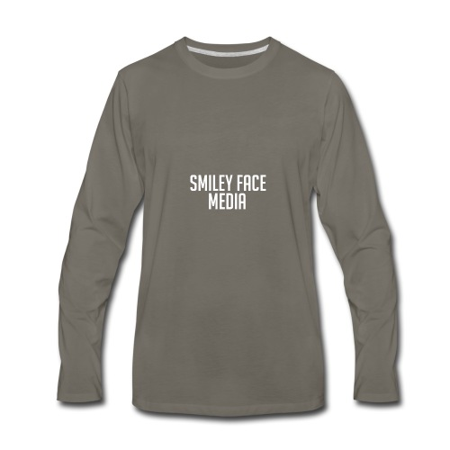 Smiley Face - Men's Premium Long Sleeve T-Shirt