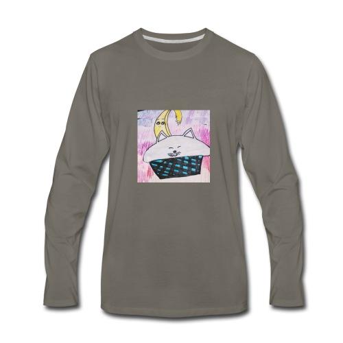 Bananacat adventures - Men's Premium Long Sleeve T-Shirt