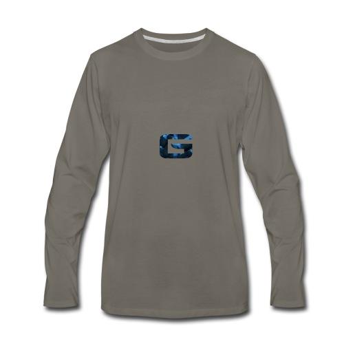 GrimmPLAYZ Branding - Men's Premium Long Sleeve T-Shirt
