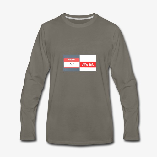 Every thing is lit - Men's Premium Long Sleeve T-Shirt