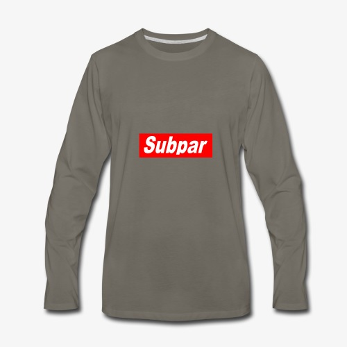 Subpar - Men's Premium Long Sleeve T-Shirt
