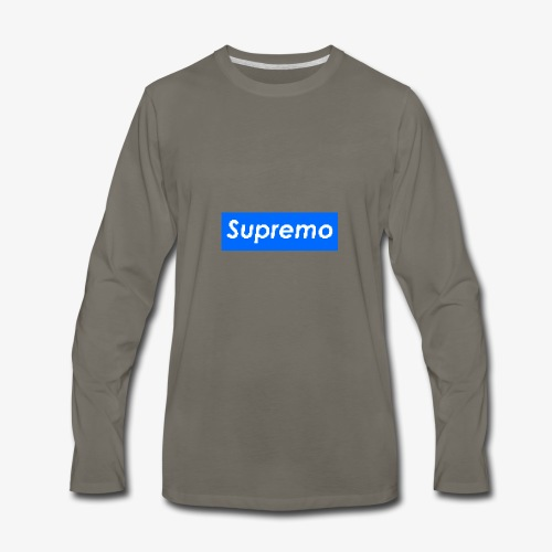 Supremo Blue - Men's Premium Long Sleeve T-Shirt