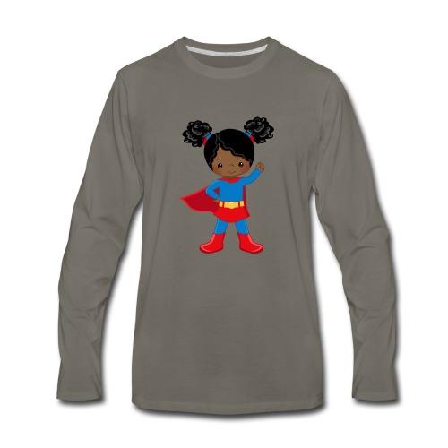 SUPER SIMONE - Men's Premium Long Sleeve T-Shirt
