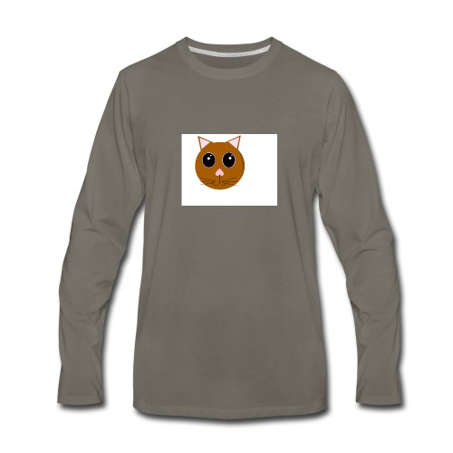 cute_cat - Men's Premium Long Sleeve T-Shirt