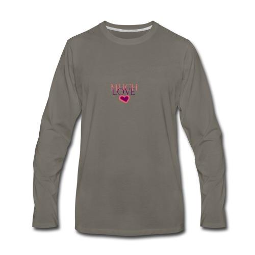 Much Love - Men's Premium Long Sleeve T-Shirt