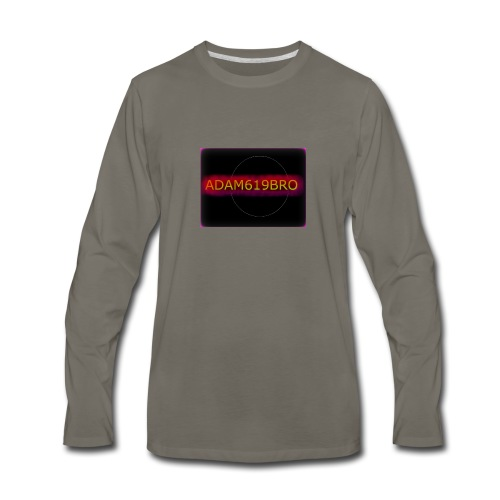 adam619bro merch! - Men's Premium Long Sleeve T-Shirt