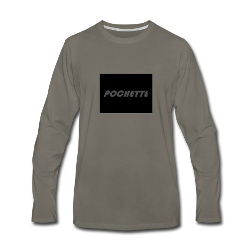 MY LAST NAME ON YOU - Men's Premium Long Sleeve T-Shirt