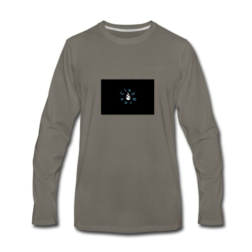 PicMonkey Sample - Men's Premium Long Sleeve T-Shirt