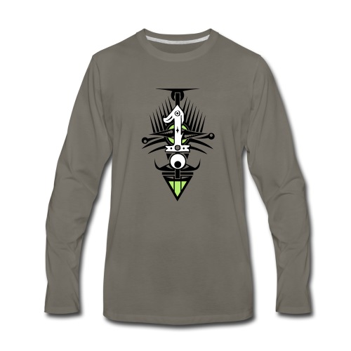 NUMBER ONE - Men's Premium Long Sleeve T-Shirt