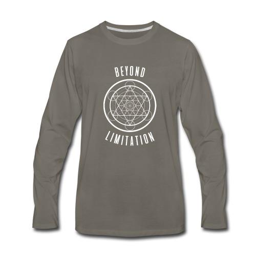 BeyondLimitation White - Men's Premium Long Sleeve T-Shirt