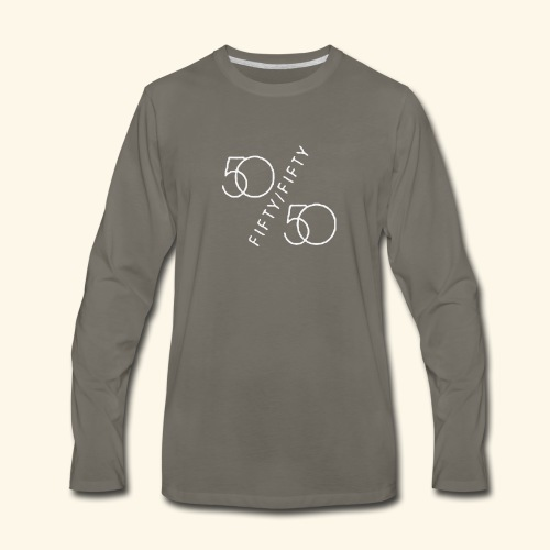 Fifty Fifty - Men's Premium Long Sleeve T-Shirt